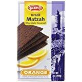 Osem Chocolate Matzah Crackers, Orange, 7 (Osem Chocolate Cake)