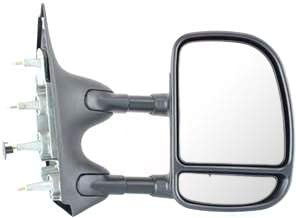 Amazon Com Kool Vue Fd84r Ford Econoline Van Passenger Side Towing Mirror Automotive