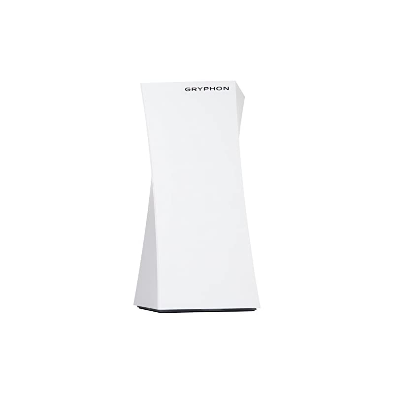GRYPHON - High Grade WiFi Security Parental Control Mesh Router - Hack Protection w/AI-Intrusion Detection & ESET Malware Protection, Smart Mesh Wireless System w/App, AC3000 Tri-Band (up to 3000sqft)