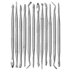 SE DD312 12-Piece Stainless Steel Wax Carvers