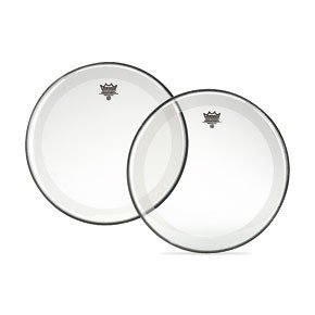 Remo P41126C2 26-Inch Coated Powerstroke 4 Bass Drumhead with Falam - Powerstroke Snare 3 Coated