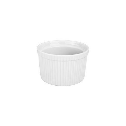 BIA Cordon Bleu White Porcelain 16 ounce Souffle Dish by BIA