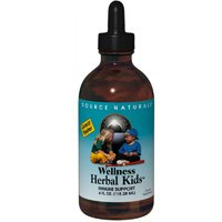 Wellness Herbal Kids Liquid, 2 oz by Source Naturals (Pack of 2)