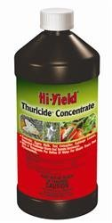 Hi-yield Thuricide Concentrate 16 Oz 1 Pint Insecticide Garden, Lawn, Supply, Maintenance