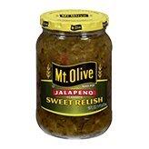 Mt. Olive Jalapeno Jalapeno Sweet Relish 16oz ()