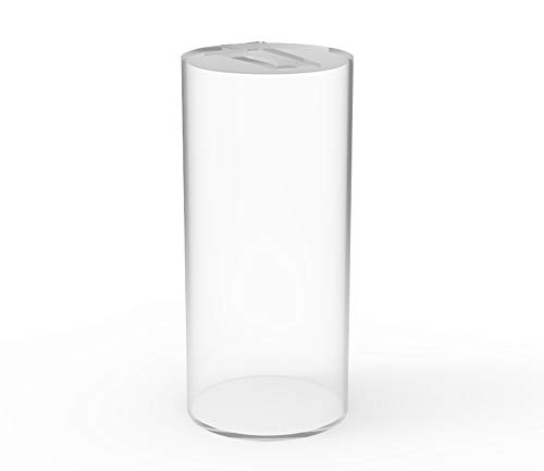 FixtureDisplays Donation Can Fundraising Jar Clear Acrylic Plexiglass 15703D-NF