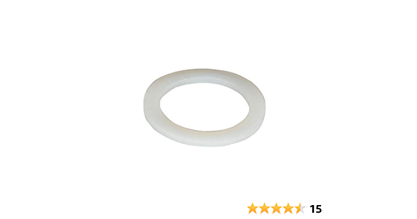 Silicone Washer White Sealing Flat Gasket Solid Plain Washers Food Grade Rings