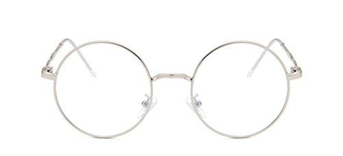 Dauco protection Lecture lunettes Vintage À Homme Verres De Métallique fatigue Transparents Femme Rondes D'écaille Type4 Lunettes Monture Vue Anti Pont Uv400 rq7Ew8xr