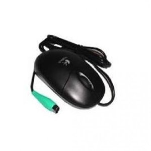 Logitech M-SBF96 3-button PS/2 Optical Scroll Mouse without USB (Wheel Mouse Ps/2)