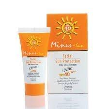 Minus-sol (Minus-sun) Facial Sun Spf 40 Pa+++ Ultra Protect Duo Effect Anti-aging Ivory 1.59 (Ivory Sun Protection Cream)