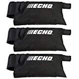 3 Pack Genuine Echo X692000120 Blower ES Shred N Vac Bag Replaces X692000040 99944100205 Fits ES-210 ES-211 ES-230 ES-231 ES-250 ES-255 Blowers
