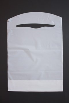 Disposable White Childrens Plastic Shipping product image