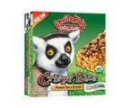 EnviroKidz Organic Lemur Peanut Choco Drizzle Crispy Rice Bar, 6 Bars per Box, Pack of 6 Boxes (Total 36 Bars)