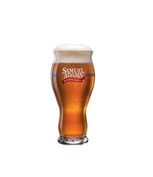 Lager Pint Glass (Samuel Adams Original Perfect Pint- Take Pride in Your Beer Beer Glasses (1))