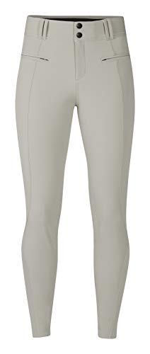 Sport Knee Patch Breeches - Kerrits Affinity ICE FIL Breech Sand Size: Medium