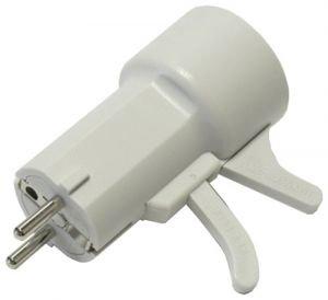 50280812004 ou (5028 08 12 00/4) Adaptateur prise à gachette pour Electrolux