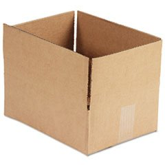 General Supply 1294 Brown Corrugated - Fixed-Depth Shipping Boxes, 12l x 9w x 4h, 25/Bundle