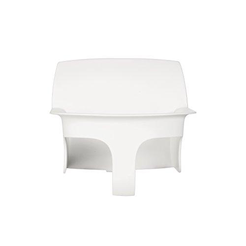 CYBEX Gold LEMO Baby Set, Für CYBEX LEMO Sitzsystem, Aufsatz für Kleinkinder, Ab 6 Monate bis 3 Jahre (9-15 kg), Inkl. Gurtsystem, Porcelaine White