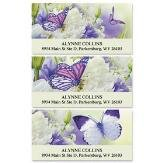 Butterfly Deluxe Self-Adhesive, Flat-Sheet Address Labels (3 Designs)