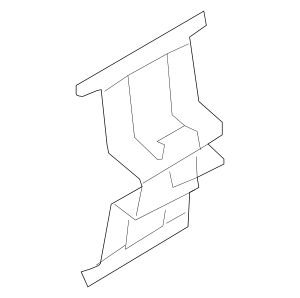 00, Disc Brake Pad Retaining Clip ()