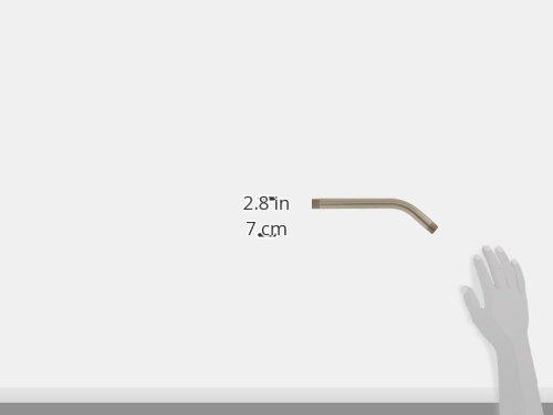 Satin Nickel Westbrass D302-07 Shower Arm