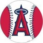 Fremont Die MLB Anaheim Angels 12-Inch Vinyl Magnet by Fremont Die