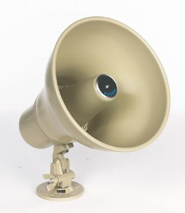 - Bogen Horn Loudspeaker with Transformer 70V