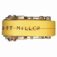 Miller By Honeywell 493-M10LH/10FTYL Ratchet Load Binder, 10 ft., 1650 Lb Workload