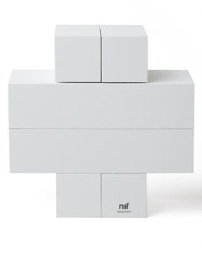 Naef Quadrigo midi Weiss - Design: Jean-Phillipe Rossinelli