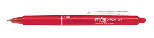 Pilot Frixion Clicker Roller Pen (Red)