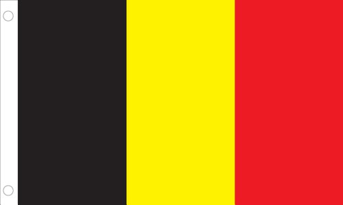 Cheap Allied Flag Outdoor Nylon Belgium United Nation Flag, 4 by 6-Feet