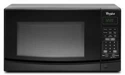 Cheap Whirlpool WMC10007AB 0.7 Cu. Ft. Black Countertop Microwave