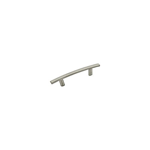 - Amerock Cyprus 3 in (76 mm) Center-to-Center Satin Nickel Cabinet Pull - 10 Pack
