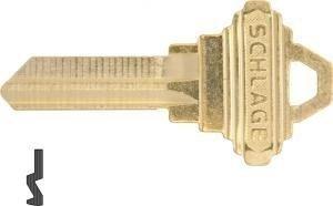 6 Pin Key Blank - Schlage 35-101-C Factory Original 6 Pin Key Blank (10 Pack)