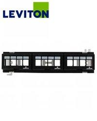 Leviton 47689-QP 12-Port QuickPort Flat Multimedia Patch Blo