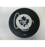 Signed Joseph, Curtis (Toronto Maple Leafs) Toronto Maple Leafs Hockey Puck autographed