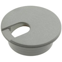 1.25 inch Plastic Grommet Cable Hole Cover - Beige, 10pcs/bag - Distributed by NAC Wire and Cables