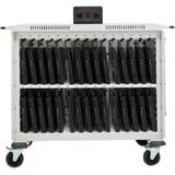 30-Compartment Laptop Charging Cart