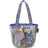 laurel-burch-medium-tote-zipper-top-14-inch-by-6-inch-by-9-1-2-inch-autumn-felines