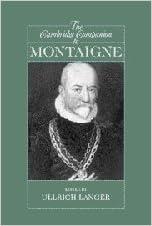 The Cambridge Companion to Montaigne