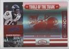 Brandon Marshall #20/25 (Football Card) 2007 Playoff Absolute Memorabilia - Tools of the Trade - Spectrum Red #TOT-19