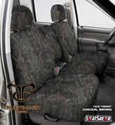 2011-14 Fits Ford F-150 Pickup 40 True Timber, Conceal Brown SeatSaver Seat Protector SS3418TTCB