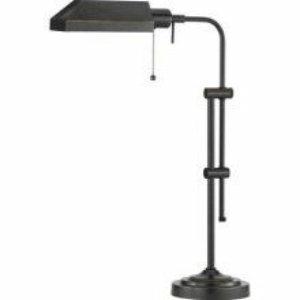 Cal Lighting BO-117TB-DB Pharmacy Table Lamp, Dark Bronze