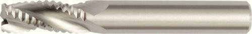 0.06 mm Chamfer 3-Flute 10 mm Cutting Dia RH Cut Uncoated Carbide Weldon Shank WIDIA Hanita 490910004WW 4909 HP Aluminum End Mill
