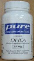 Pure Encapsulations DHEA 25 mg 180 Vcaps