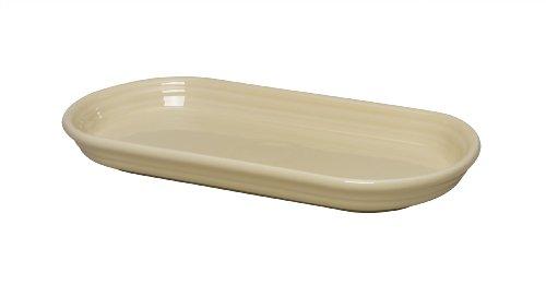 Fiesta 12-Inch by 5-3/4-Inch Bread Tray, Ivory