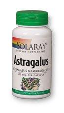 Solaray - astragale, 400 mg, 100 capsules