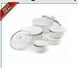 CorningWare 11-Piece French White Bakeware and Serveware Set