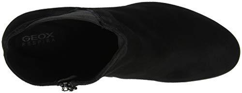 Annya black High D Mujer Botines Geox Para C9999 H SHax5q7