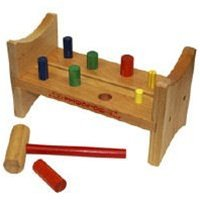 Wooden Hammer & Nail Toy